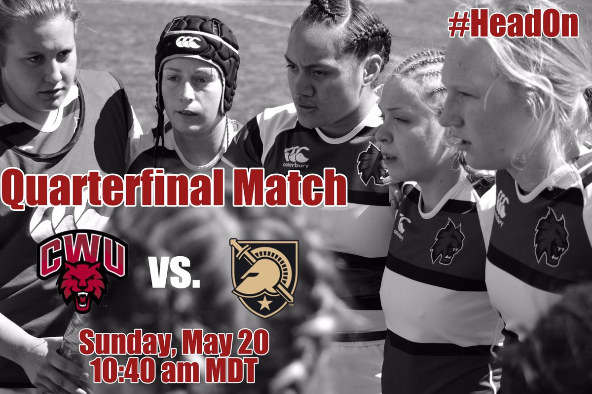 WILDCAT GAME DAY!! @CWURugbyWomen battle @ArmyWP_WRugby in the Quarterfinal match of #Rugby7s at 10:40 am MST.   : @TheRugbyChannel<br>http://pic.twitter.com/Oj0OkQa2mc