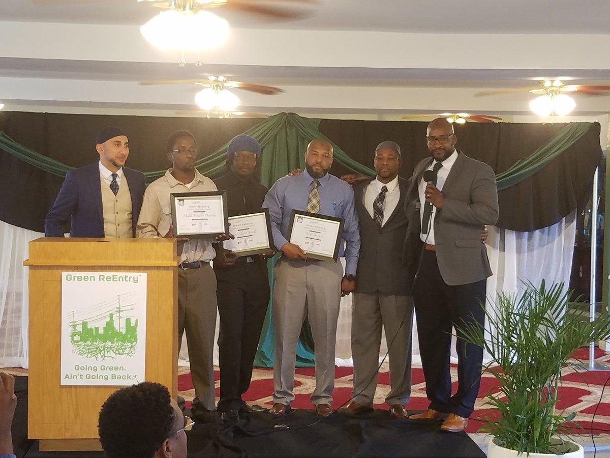 Atlanta Green ReEntry Graduation