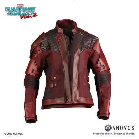 Pre-order your Guardians of the Galaxy Vol. 2 Star-Lord replica jacket today!  http:// bit.ly/2iQ6dgv  &nbsp;   #GotGVol2 #ANOVOS #MARVEL<br>http://pic.twitter.com/JEQnFbpEoU