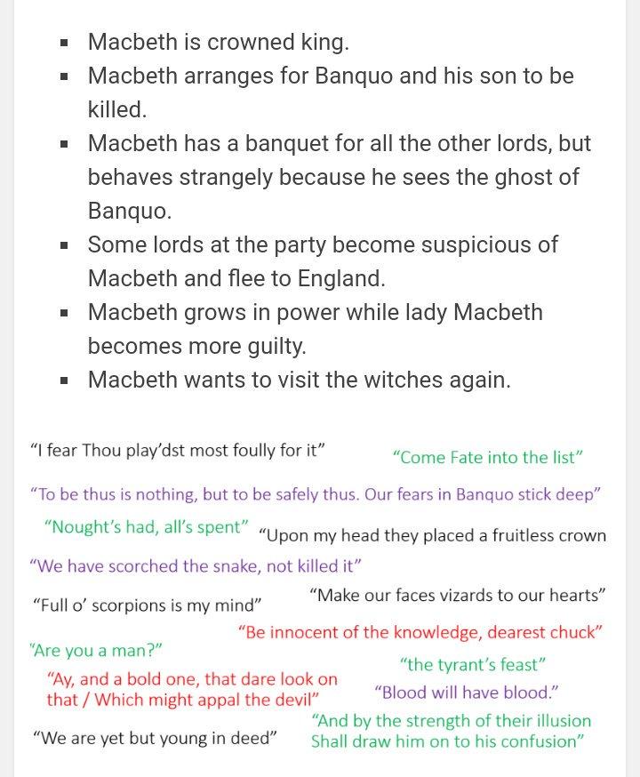 macbeth act 3 summary