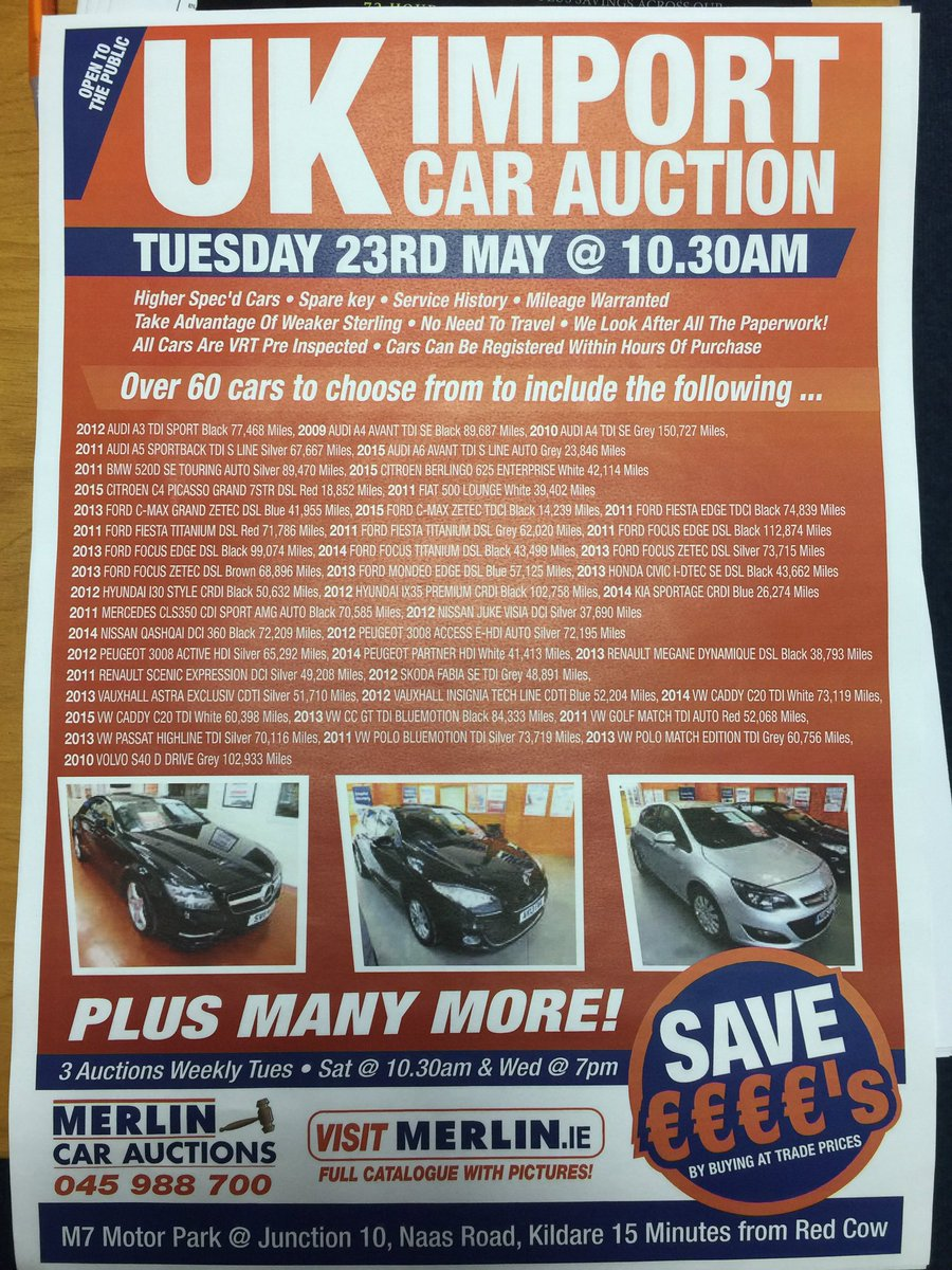 Merlin Car Auctions Merlinauctions Twitter