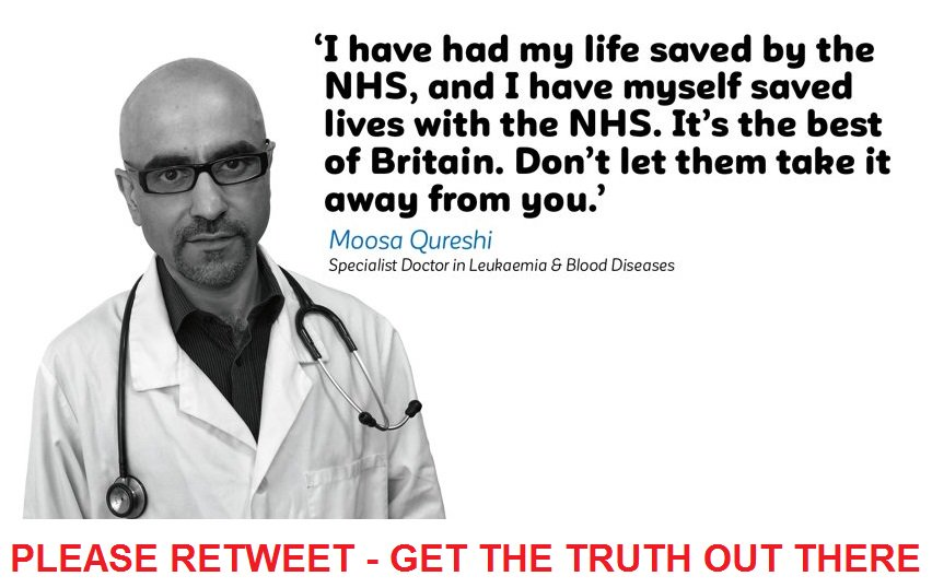 Do you really want to sacrifice YOUR NHS...
