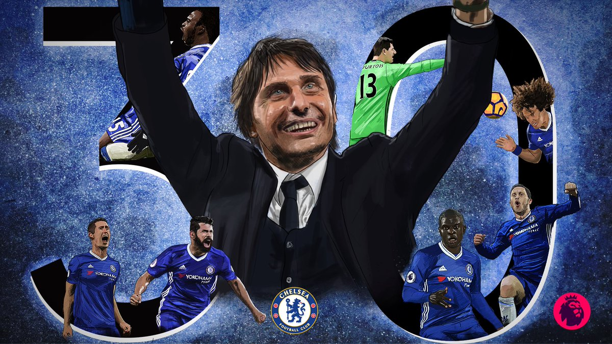 Congratulations @ChelseaFC!   30 wins in a season  A new #PL record #ChelseaChampions