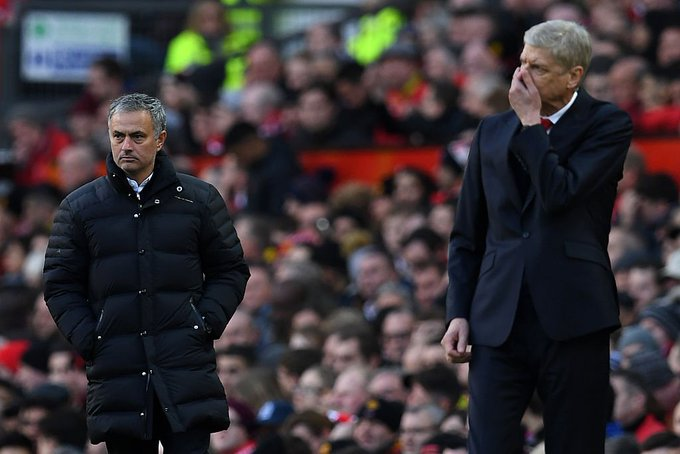 This is the first time both Man Utd and Arsenal have finished outside the top 4 in the Premier League era.