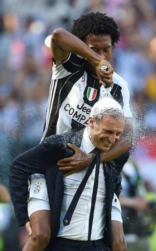 Premiazione Juventus Scudetto Serie A 2016-2017