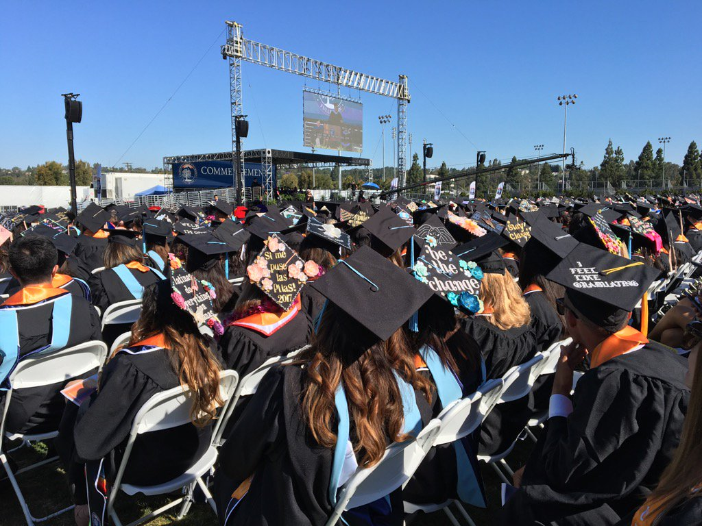 """""""You need to own your own story"""" GE Digital CEO Bill Ruh tells the #CSUF Class of 2017. He's an '83 & '84 Titan grad. https://t.co/hcoIBUx7hT"""