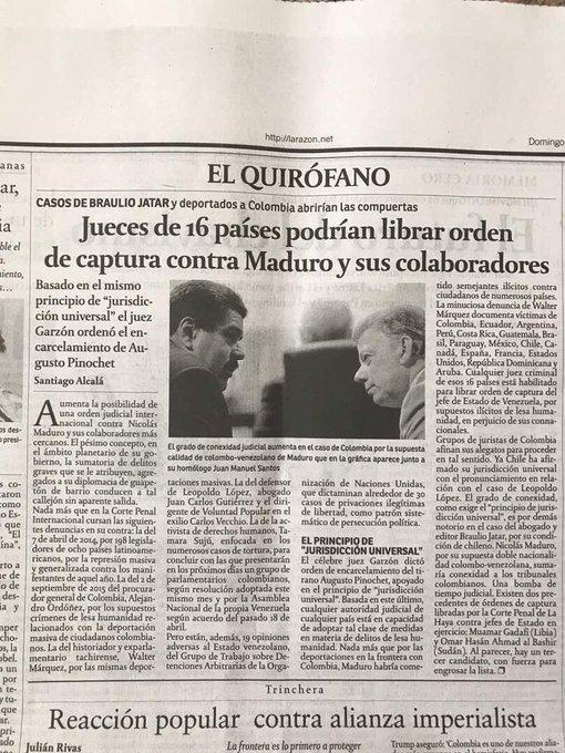 Jueces de 16 países podrían librar orden de captura contra Maduro ¿A quienes lo sostienen en el poder se van a dejar hundir con el dictador?