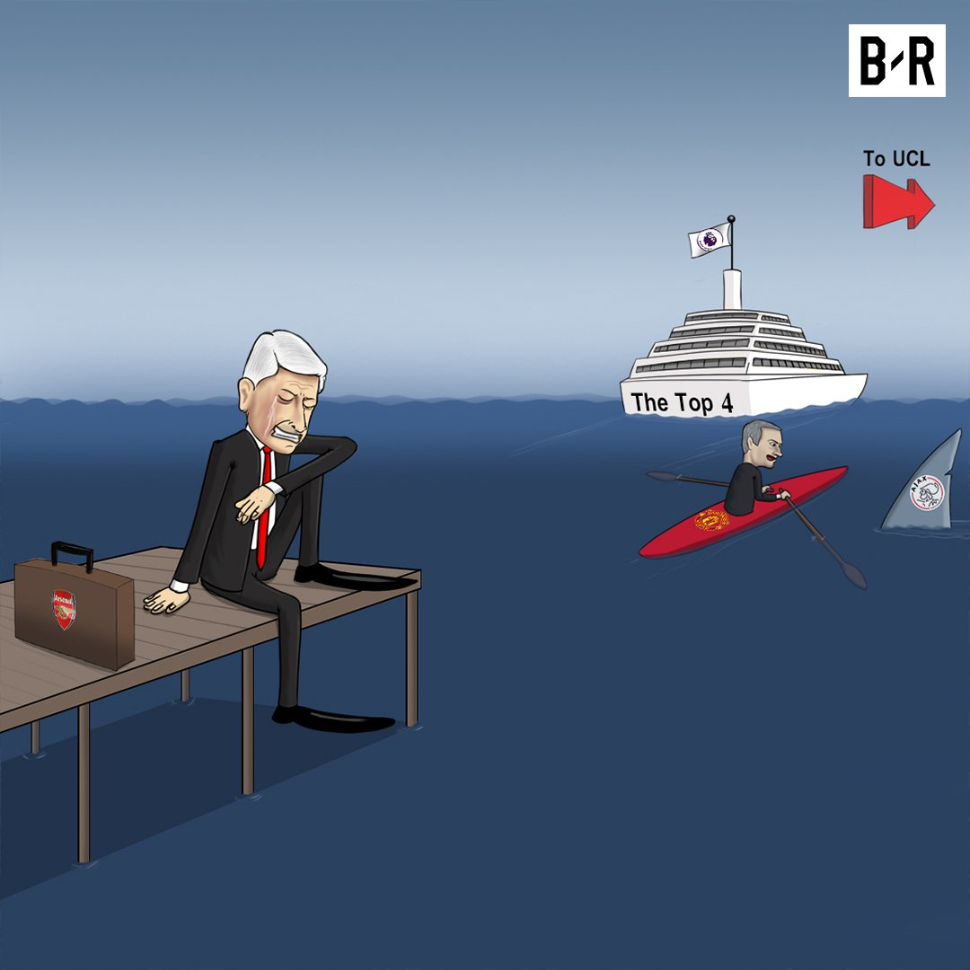 The Ship Has Sailed On Arsenal's Top Four Hopes