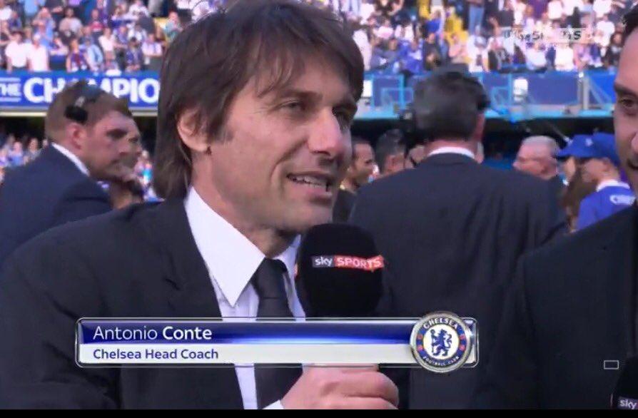 """Antonio Conte (Chelsea): """"Sono contento per la Juventus"""""""