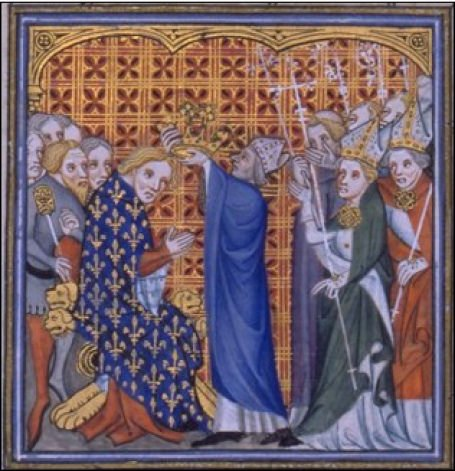 Coronation of Philippe VI, the first #King of #France from the House of #Valois <br>http://pic.twitter.com/j9zV0Ps49g