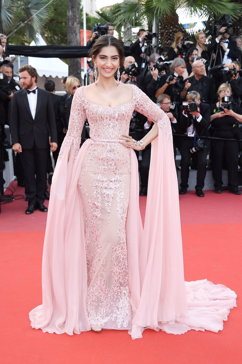 Sonam Kapoor: Princess Vibes at Cannes Red Carpet image