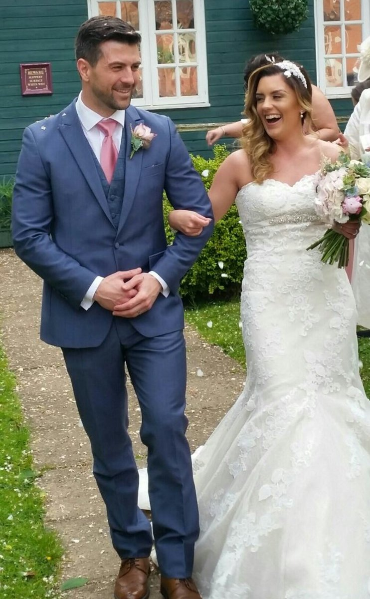 """Derek Brockway - weatherman on Twitter: """"Congratulations to my niece Nadine  and Omar @gharbieh9 who tied the knot yesterday."""