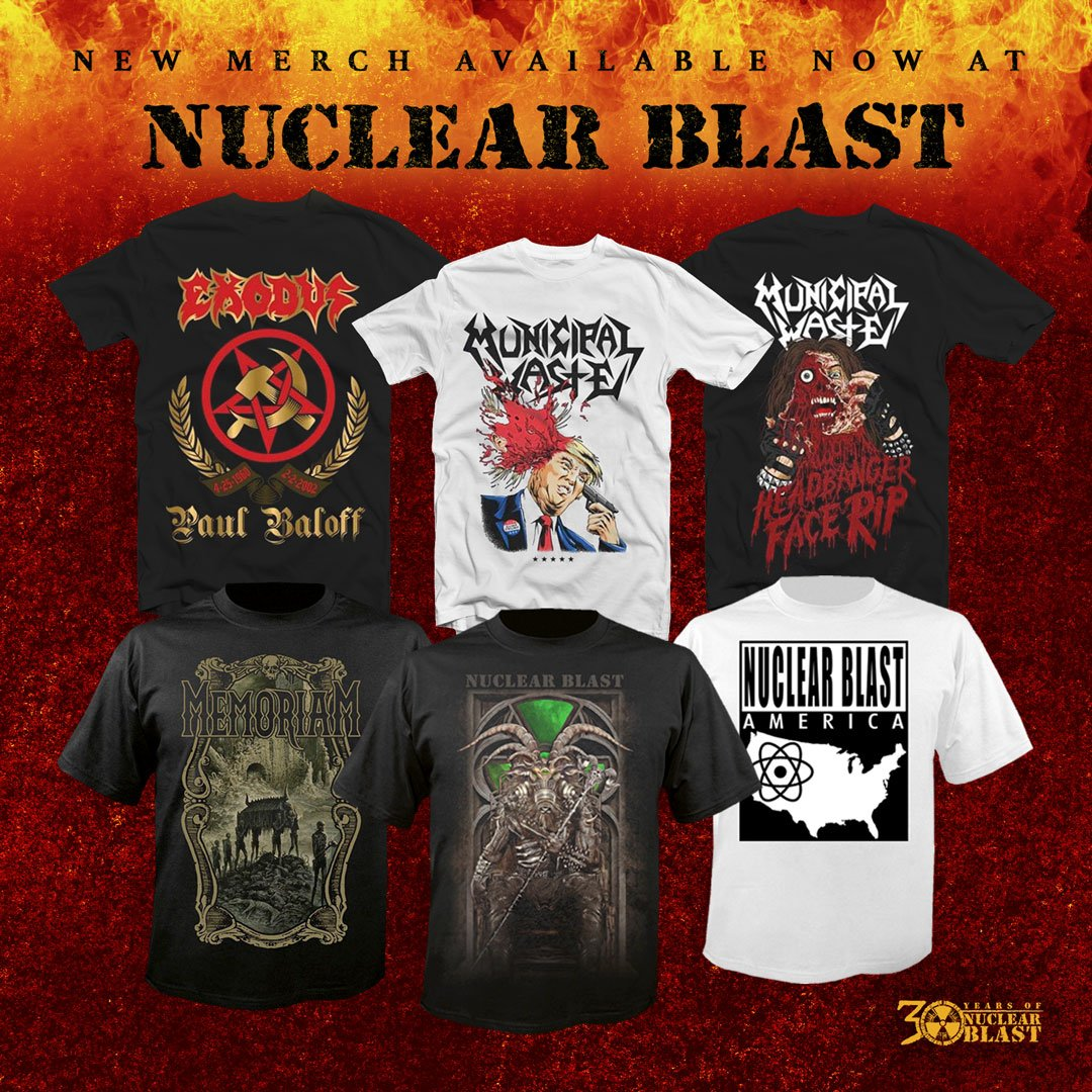 NEW ARRIVALS Stock up on band merch at https://t.co/cCAYaxCk2F SHIPS WORLDWIDE https://t.co/mnumarkZ4O
