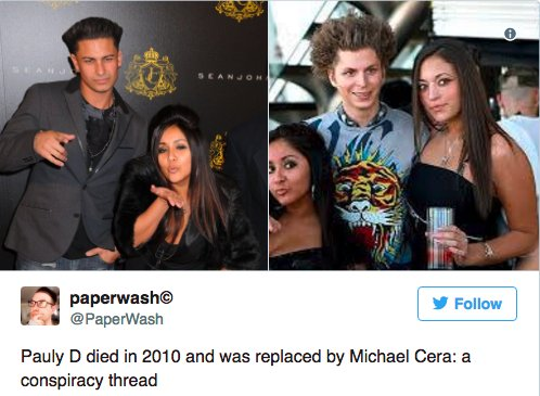 19 celebrity conspiracy theories that are totally legit bzfd.it/2r6pKkp