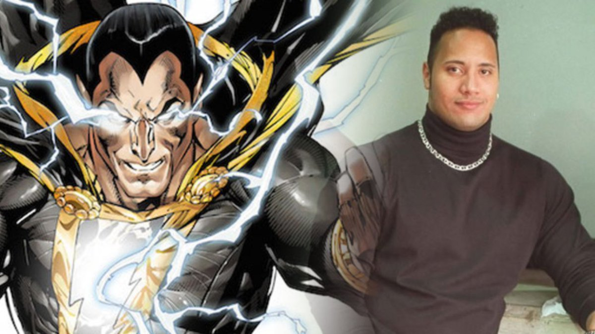 Dwayne 'The Rock' Johnson On What Attracts Him To BLACK ADAM comicbook.com/dc/2017/05/21/…