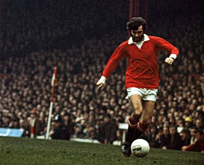 Pele good, Maradona better, George BEST.  happy birthday George!  (22 may 1946 - 25 nov 2005)