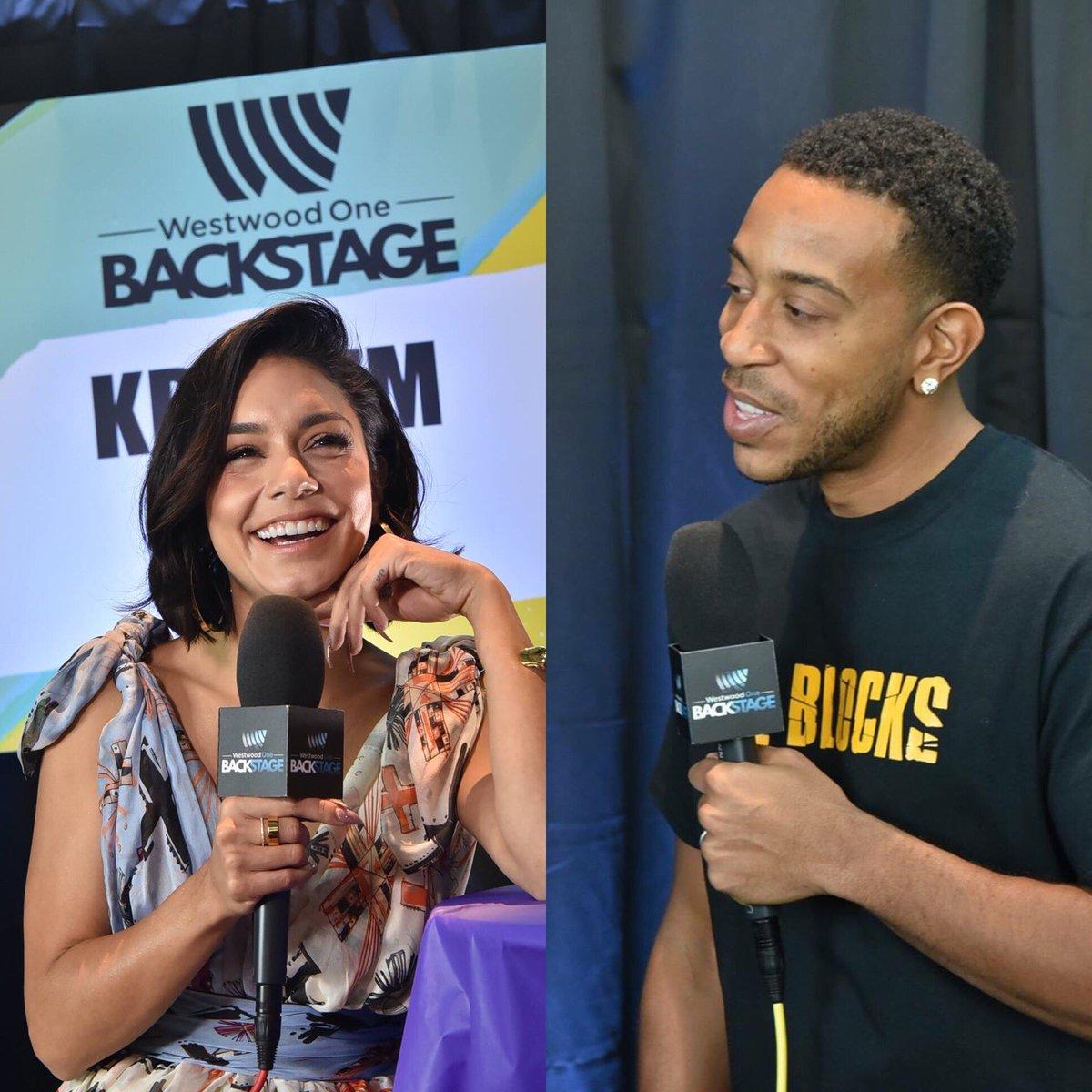 Before the @bbmas, #BBMAs  hosts @Ludacris @VanessaHudgens stopped by the #WWOBackstage! #Ludacris #VanessaHudgens #VitaminD #RemindingMe  <br>http://pic.twitter.com/YmDFbTYbFB