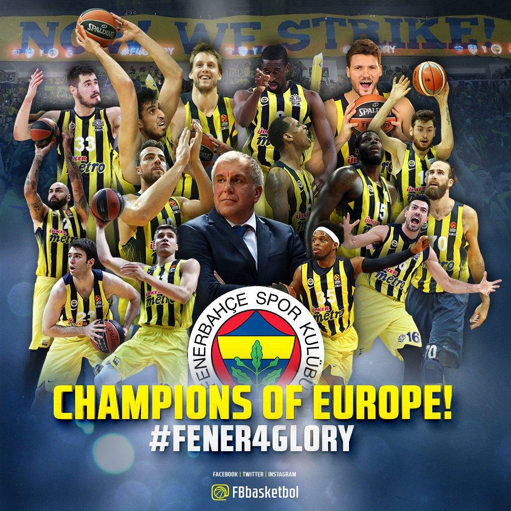 CHAMPIONS OF EUROPE! #FENER4GLORY https:...