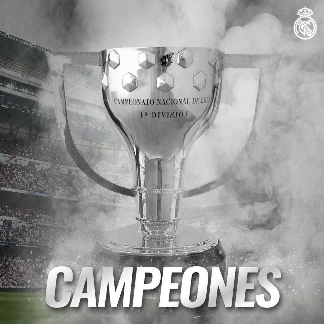 LaLiga CHAMPIONS. 🇪🇸🏆⚽ #33Ligas #HalaMadrid