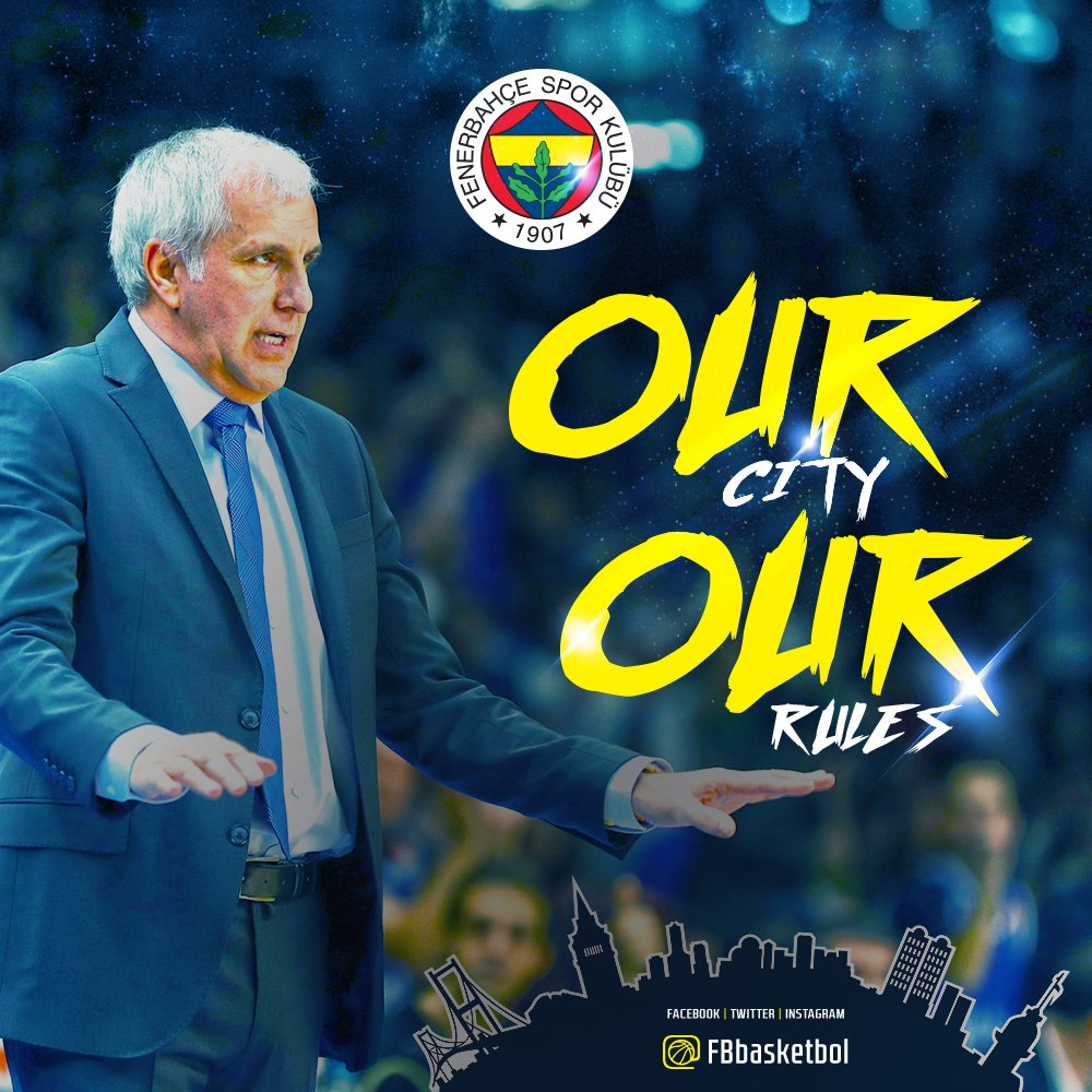 OUR CITY, OUR RULES! 🏆 #FENER4GLORY http...