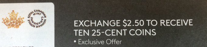 Not actually an exclusive offer
