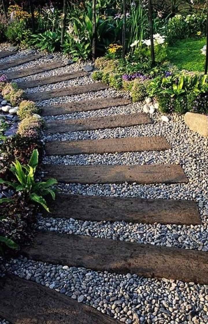 Traviesas de tren para jardin imagen titulada construct a - Traviesas de tren para jardin ...