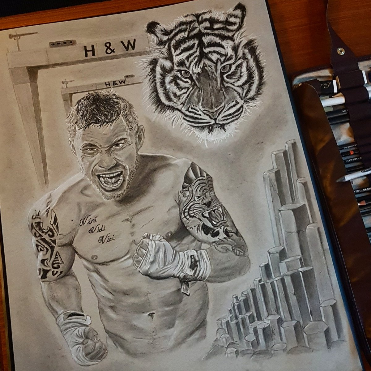 Add 2 to the record, 2 of my pencils got KOed from this, team jackal #RetweeetPlease #getthissigned  @RealCFrampton<br>http://pic.twitter.com/Cwa7TiXkeQ
