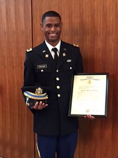 Bowie State murder victim Richard Collins III commissioned in US Army Thursday. Murdered two days later at UMD. https://t.co/7U1POB0Flg