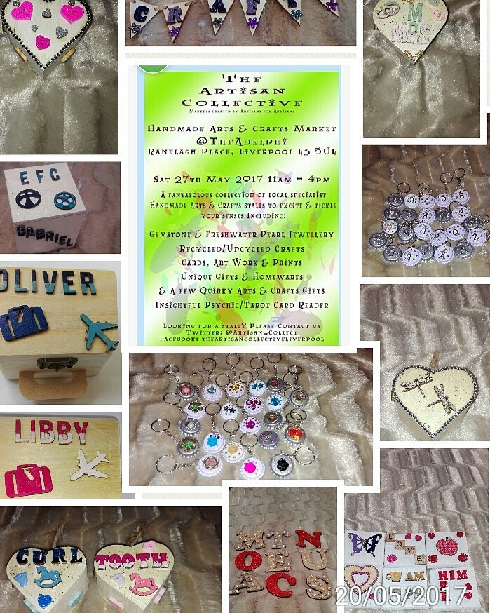 Adelphi Hotel this Saturday...spend £5 and get a free gift...#jolleecrafts #personalized #adelphi  #trinketbox #handcrafted #keyring #magnet<br>http://pic.twitter.com/cKuuaqAC0s