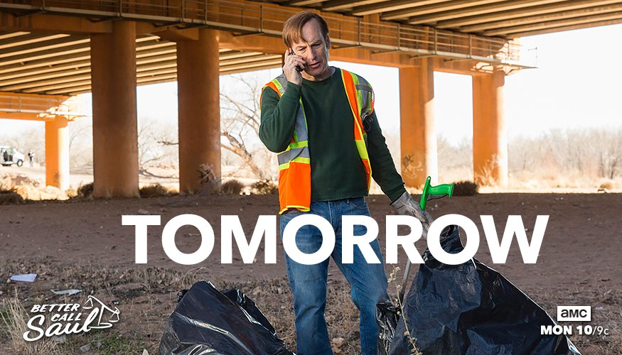 Mike isn't the only one taking dirty jobs on tomorrow's #BetterCallSau...