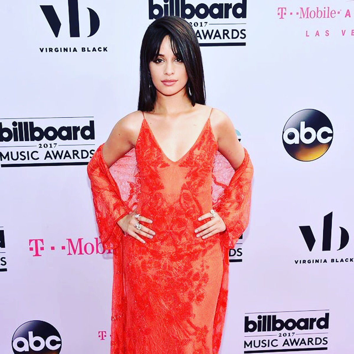 .@Camila_Cabello looks red hot at the #bbmas!! Can't wait to see you perform tonight! https://t.co/afLfYzRSzB