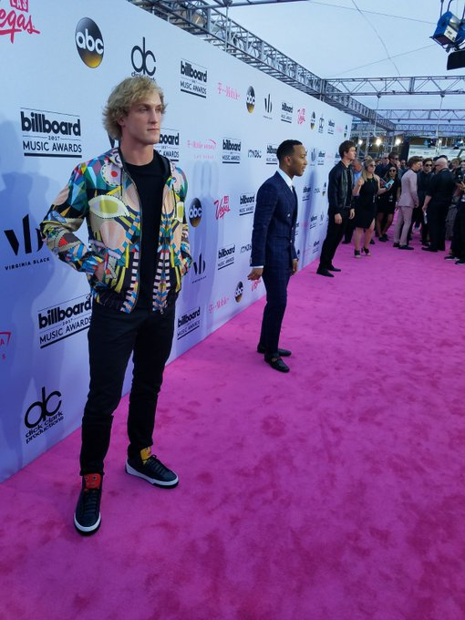 Safe to say these two aren't 'ordinary people' ;) @LoganPaul @johnlegend Looking 🔥! #bbmas #bbmasunlimited
