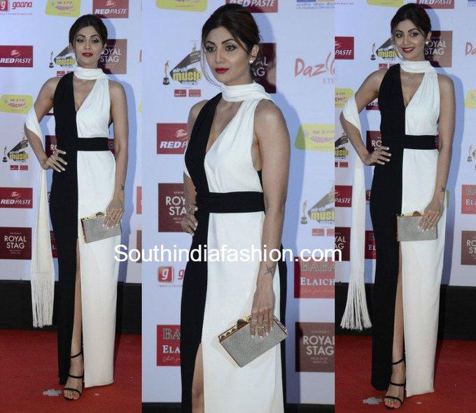 Shilpa Shetty in Paule Ka • South India Fashion