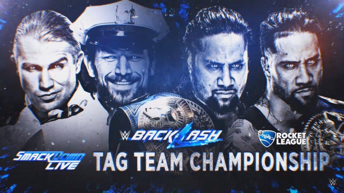 Whaaaaat?! C'est @RocketLeague le sponsor pour #WWEBacklash?! :O Après #FFXIV pour #WrestleMania ... Mais c'est génial!!! XD pic.twitter.com/lpt14MpPF7