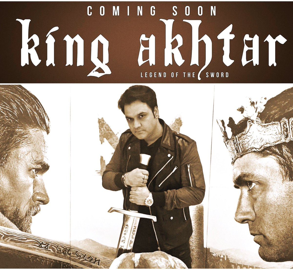 My crown and the kingdom is in my heart! #KingAkhtar #YasirAkhtar #LegendoftheSword #ComingSoon #KingArthur #BBCMusic #BBCAsianNetwork #BBC <br>http://pic.twitter.com/5V9KFaC04I