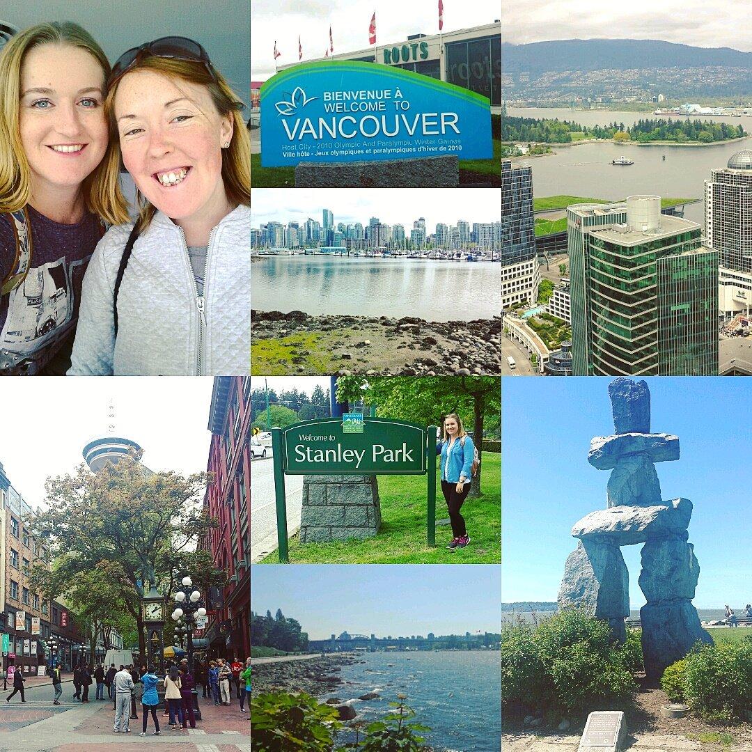 Back in #Canada 🍁😃 #Weekone #Vancouver #stanleypark #englishbay #gasto...