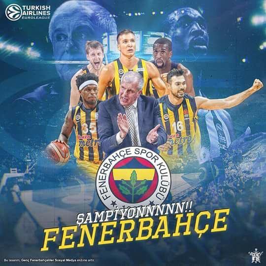Tebrikler #Fenerbahçe... Bize bu gururu...