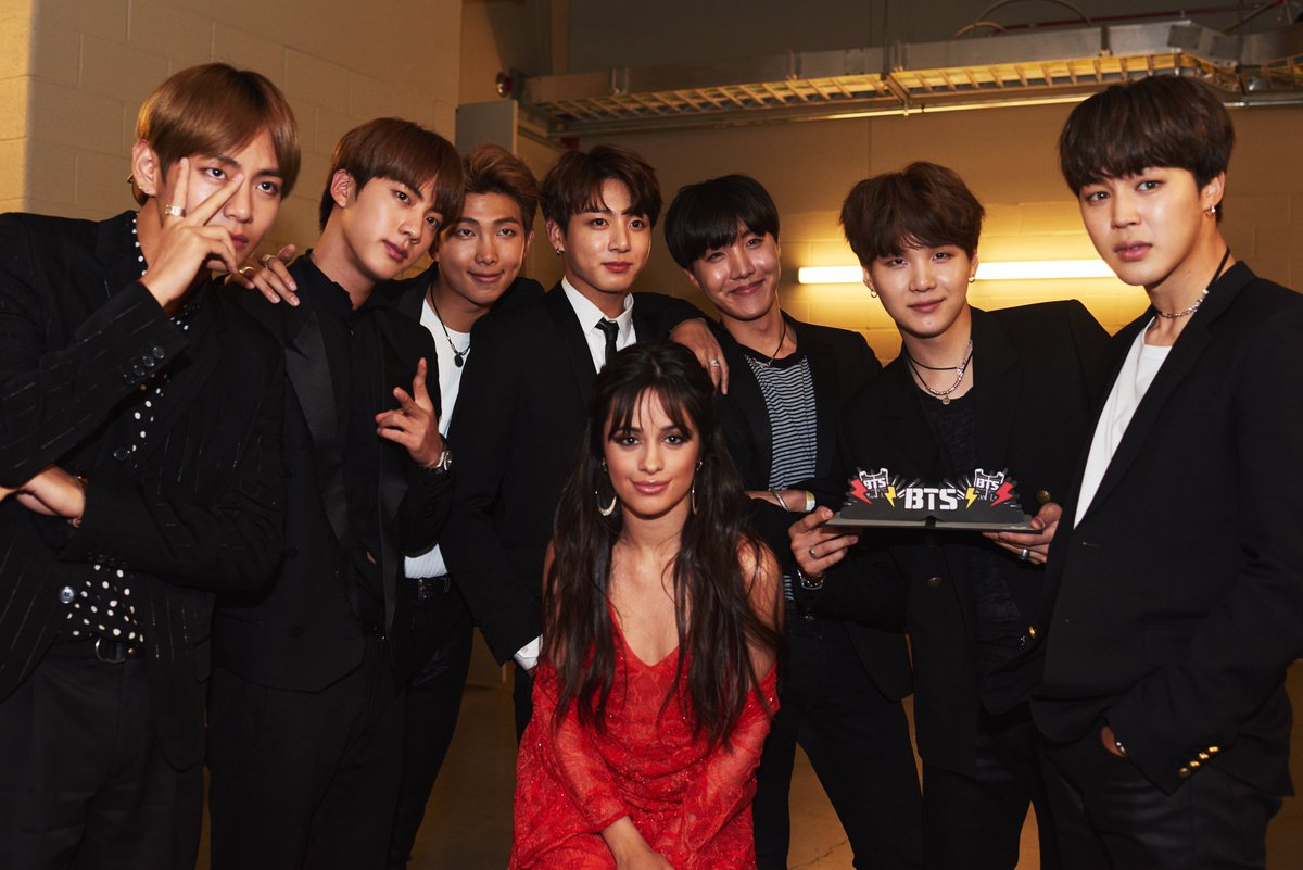 *Breaks the internet*  @Camila_Cabello @BTS_twt #BBMAs