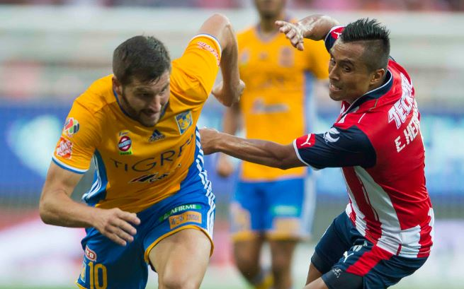 Tigres gana 4-0 Global a los Xolos