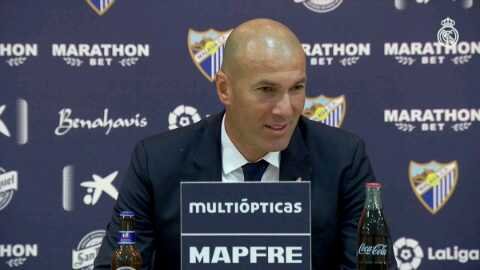 "#Zidane: &quot;This is my happiest day as a coach. I have won everything with this club &amp; winning #LaLiga is the best..""<br>http://pic.twitter.com/IBoLsO9Uyo"