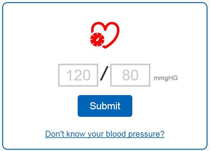 Had a blood pressure check? This tool will help you understand the results: https://t.co/86j5jZfmVu
