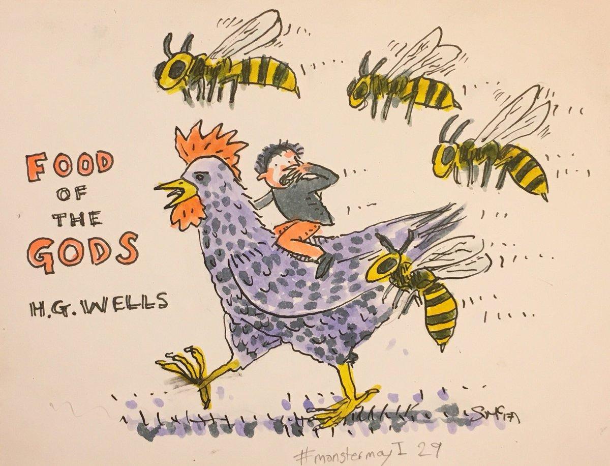 Food of the Gods #monstermayI  29 #H.G.Wells <br>http://pic.twitter.com/IN8SjkgdkC