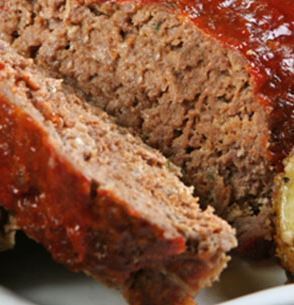 Glazed Turkey Meatloaf