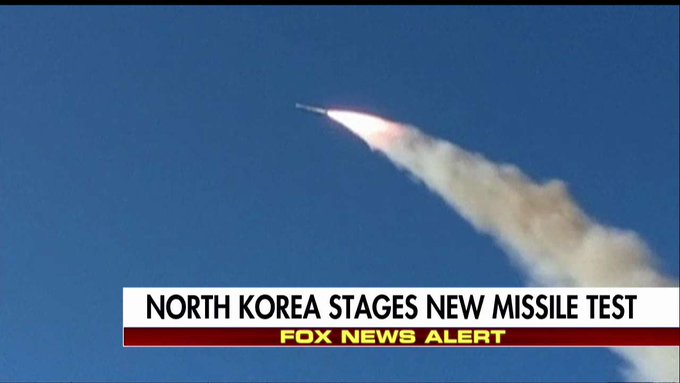 North Korea stages new missile test https://t.co/3uDeSCIU2U