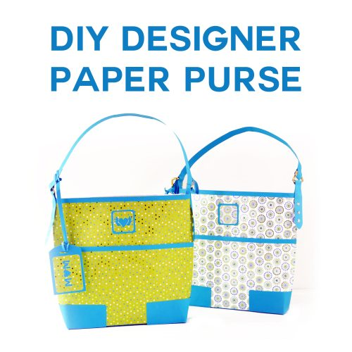 DIY Designer Paper Purse Makes a Gorgeous Gift Bag!