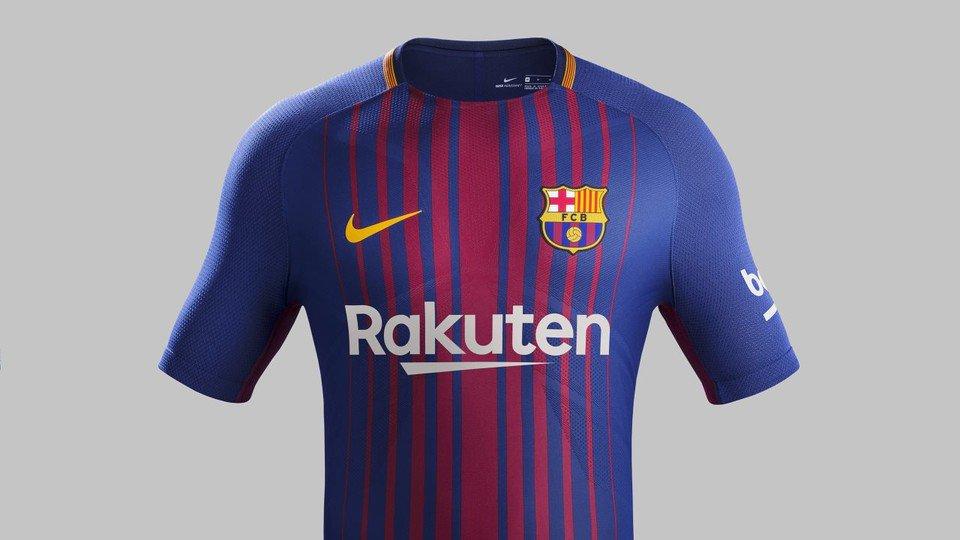 c492bcf3fc ¿Te gusta  ¡Ya hay manto sagrado! Así será la nueva camiseta de Barcelona  2017 18