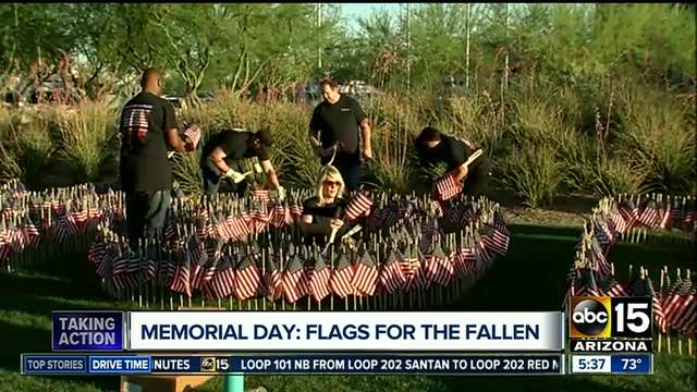 Bikers help honor fallen heroes on Memorial Day at 'Flags for Our Fallen' event https://t.co/cvkqEqF3Mm #abc15