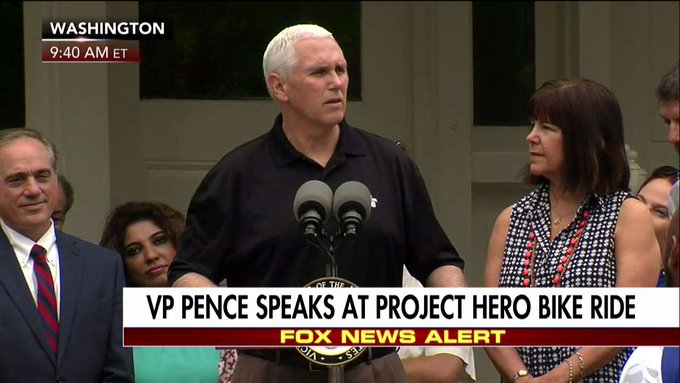 .@VP: It is the greatest privilege of my life to be Vice President.'