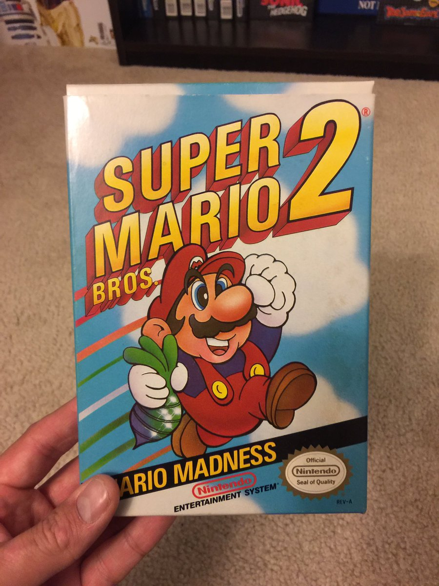 It&#39;s not the sequel we expected but enjoyed it nonetheless! #RETROGAMING #nerd #nintendo #supermario #videogame #gamer #geek #nes #8bit<br>http://pic.twitter.com/0iEoyew4E6