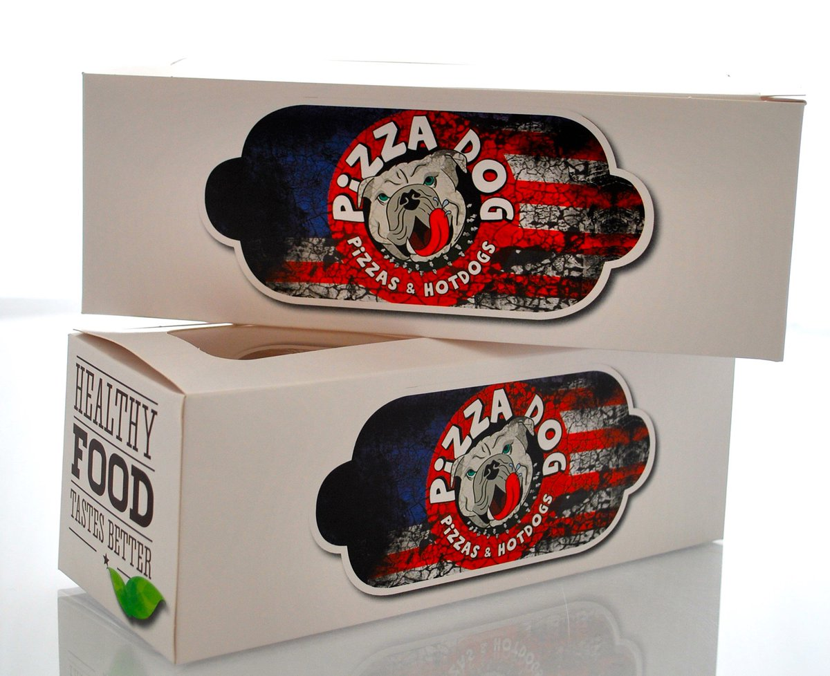 Loving the custom carton packaging produced for @PizzaDogDOTie.  #print #packaging #branding<br>http://pic.twitter.com/GIlNreIung